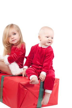 Christmas babies photo