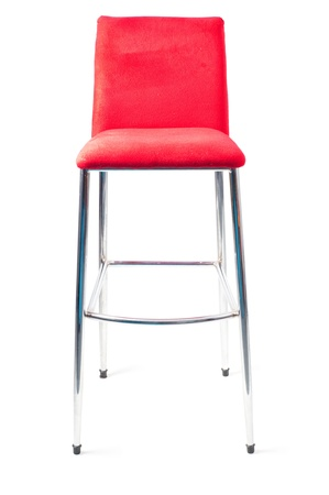 Red bar stool Stock Photo - 8385794