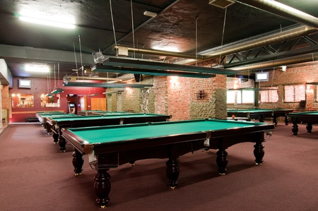 Salle de billard