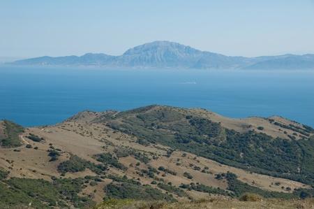 D�troit de Gibraltar. Banque d'images