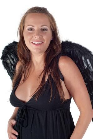 Beautiful pregnant woman photo