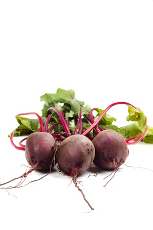 Beet in studio Stock Photo