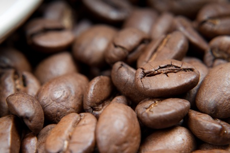 caffee: Caffee beans Stock Photo