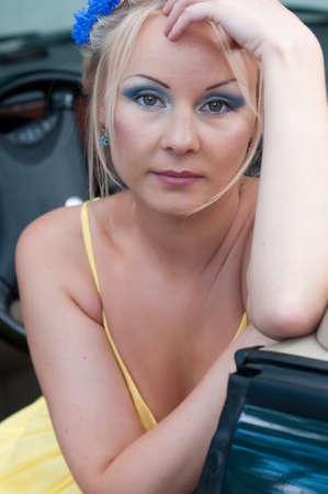 Shot of beautiful woman photo