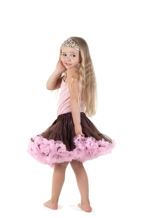Little girl in studio Stock Photo - 10196961