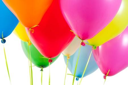 globos fiesta: Globos multicolores aire