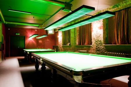 snooker room: Billiard room