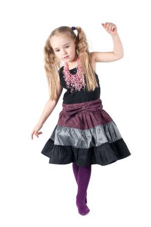 Portrait de jeune fille mignonne Banque d'images
