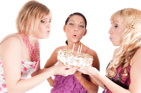 Girl s party photo