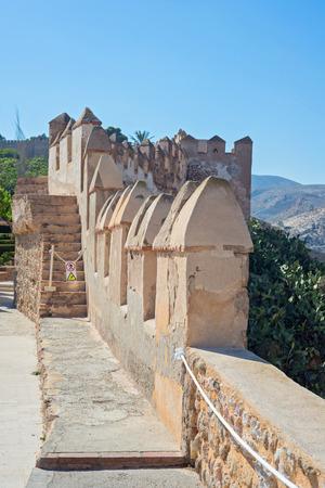 moorish: Moorish Castle in Almeria Province, Andalusia, Spain, Western Europe
