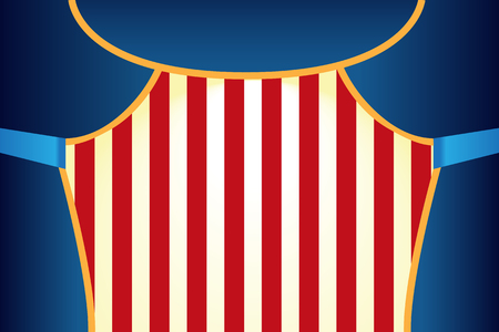 Circus show poster template Illustration