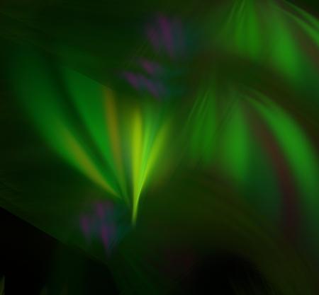 このフラクタルがオーロラのように見える 写真素材