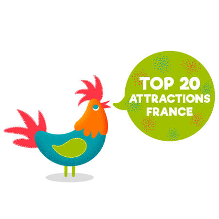 Top 20 attractions France popular tourist places