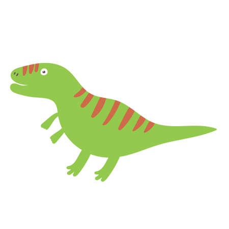 Cute Tyrannosaurus Dinosaur. Dinosaur vector character