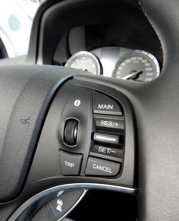 multifunction: Controls on the multifunction steering wheel