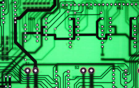 chipset: Seamless chipset electronic board texture