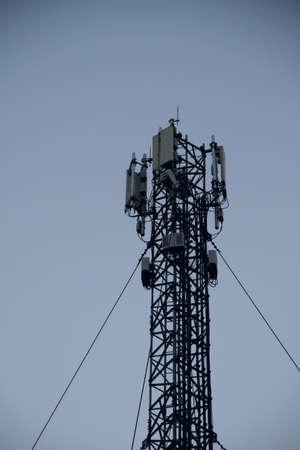 transmitter: Communication transmitter antenna tower