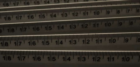 Accurate measure centimeter rulers texture background stock photos