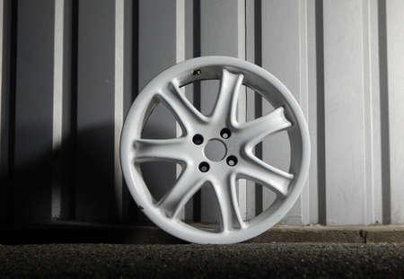 Dismantled Wheel Rim Isolated