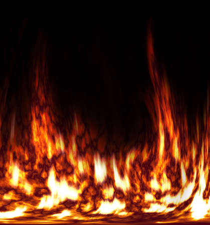Abstract fire in the furnace. Stock Photo - 598820