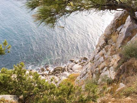breakage: Rotura brusca en una costa del mar Negro