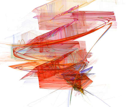 Abstract magic background made on a computer Stock Photo