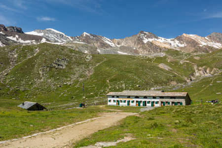 Traditional mountain retreat for tourist hiking the surrounding area.