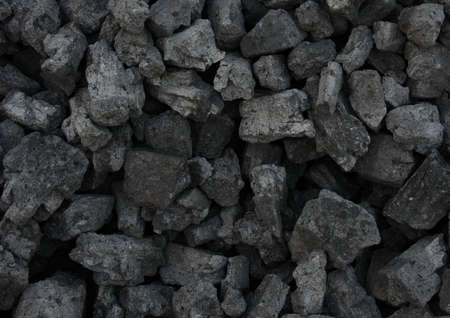 anthracite coal: Pile of coal texturebackground