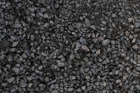 Pile of coal texturebackground photo