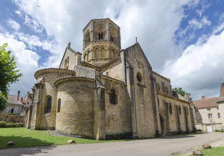 romanesque: Romanesque church Stock Photo