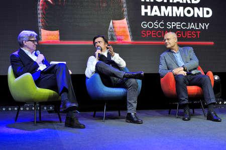 Richard Hammonds performance on Warsaw Motor Show, 2018