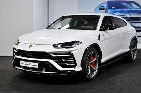 Lamborghini, Warsaw Motor Show, 2018 Sajtókép