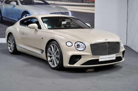 Bentley, Warsaw Motor Show, 2018