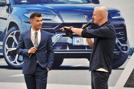 Presentation of a new car, Warsaw Motor Show, 2018