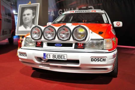 Race car, Warsaw Motor Show, 2018
