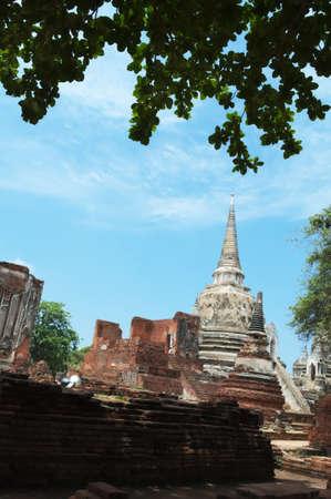chaimongkol: Beautiful ancient art in buddha at Wat Yai Chaimongkol, Ayutthaya,