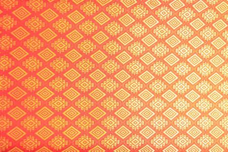 Thai lanna silk pattern texture Standard-Bild