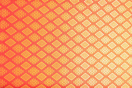Thai lanna silk pattern texture photo
