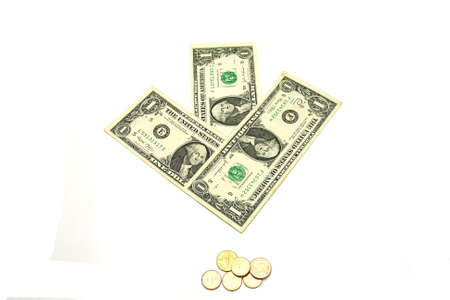 smacker: US dollar bills arrow guild small gold coin