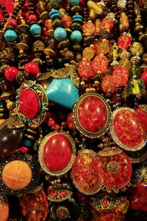 artisans: Color stone bracelet  Arab style