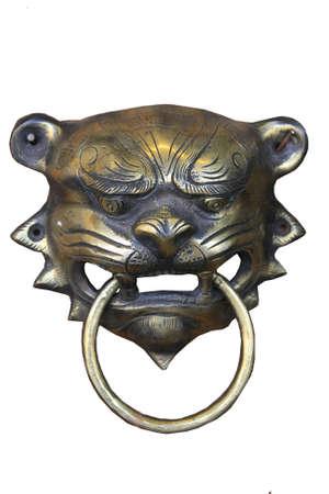 Tiger brass  knocker photo