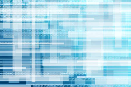 abstract blue background ,binary  photo