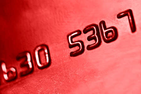 number on credit card, bcakground Stock Photo - 21093950