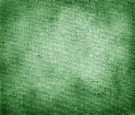rusted background: vintage green paper texture  Stock Photo