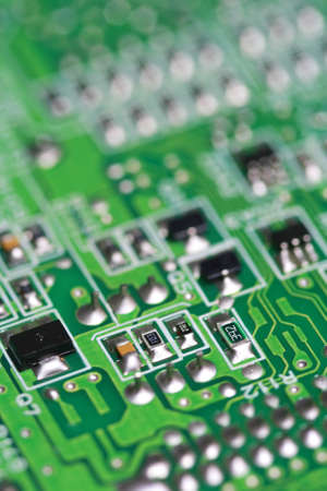 Electronic PCB background photo