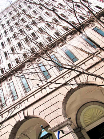 windows of classic building