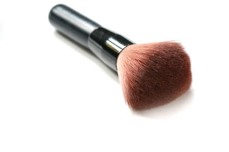 make up brush isolated  photo