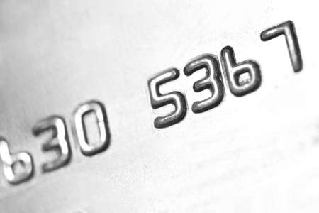 number on credit card, bcakground Stock Photo - 21094308