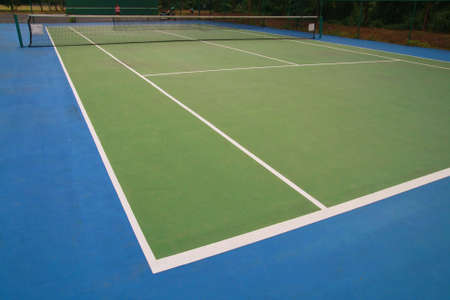 tennis, hard court photo