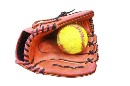 guante de beisbol: guante de b�isbol sostener una pelota